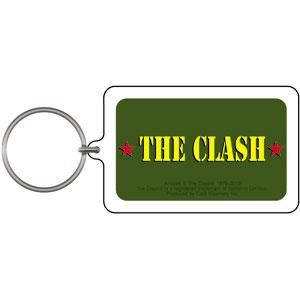 Clash- Army Logo Lucite Keychain
