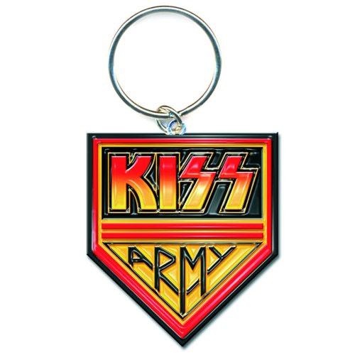 Kiss- Army metal keychain