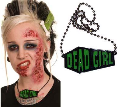 Dead Girl Coffin Necklace by Kreepsville 666