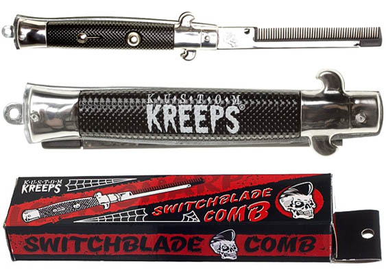 Kustom Kreeps Switchblade Comb