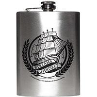 Kustom Kreeps  - Streams of Whiskey Flask - SALE