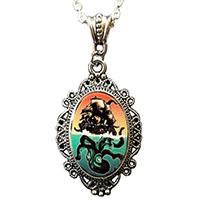 Kraken (Octopus & Ship) Necklace by Alkemie
