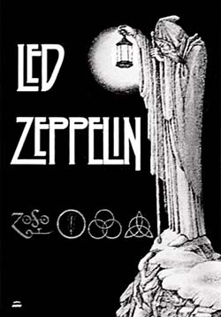 Led Zeppelin- Stairway To Heaven Fabric Poster