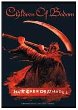 Children Of Bodom- Hate Crew Fabric Poster/Wall Tapestry
