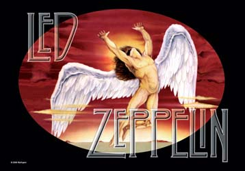 Led Zeppelin- Icarus Fabric Poster