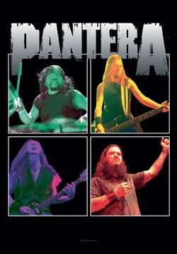 Pantera- Band Frames Fabric Poster
