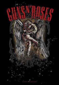 Guns N Roses- Cherubin Fabric Poster
