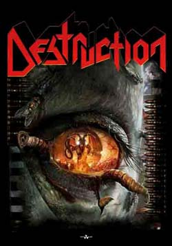 Destruction- Day Of Reckoning Fabric Poster/Wall Tapestry
