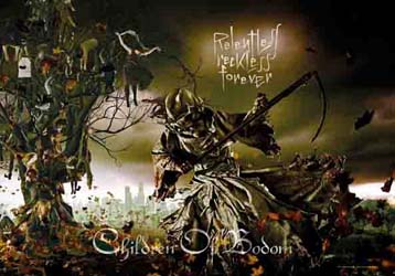 Children Of Bodom- Relentless Reckless Forever Fabric Poster/Wall Tapestry