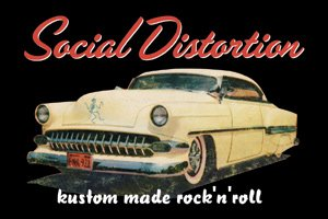 Social Distortion- Kustom Made Rock 'N' Roll magnet