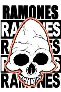 Ramones- Pinhead magnet