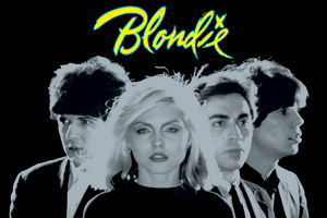 Blondie- Band Pic magnet