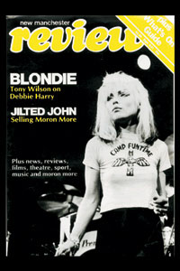 Blondie- New Manchester Review magnet