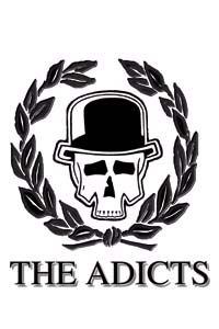 Adicts- Skull And Vine magnet