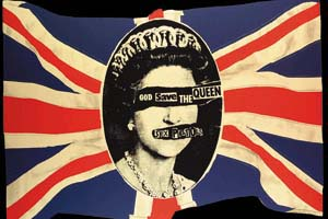 Sex Pistols- God Save The Queen magnet