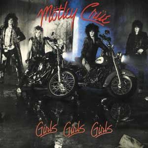 Motley Crue- Girls Girls Girls magnet