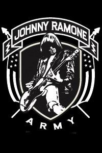 Johnny Ramone- Johnny Ramone Army (Playing Guitar) magnet