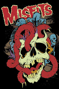 Misfits- Worms magnet