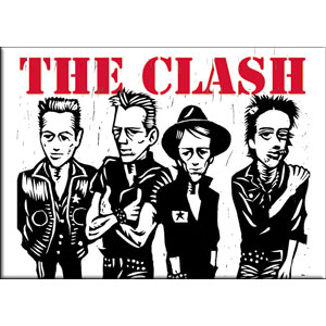 Clash- Band Caricature Magnet