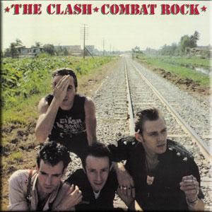 Clash- Combat Rock Magnet