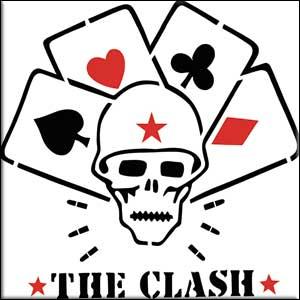 Clash- Skull & Cards Magnet
