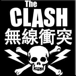 Clash- Skull & Bolts Magnet