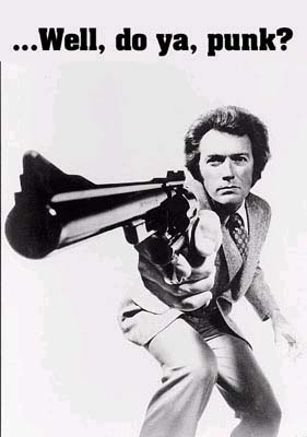 Dirty Harry- Well, Do Ya, Punk? poster