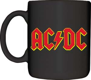 AC/DC- Logo coffee mug