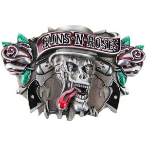Guns N Roses- Tongue Skull belt buckle (bb273)