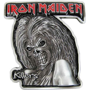 Iron Maiden- Killers (Die Cut) belt buckle (bb299)