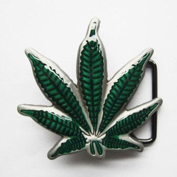 Marijuana belt buckle (bb187)