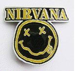 Nirvana- Face belt buckle (bb261)