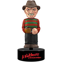 Nightmare On Elm Street- Freddy Solar Powered Body Knocker by NECA