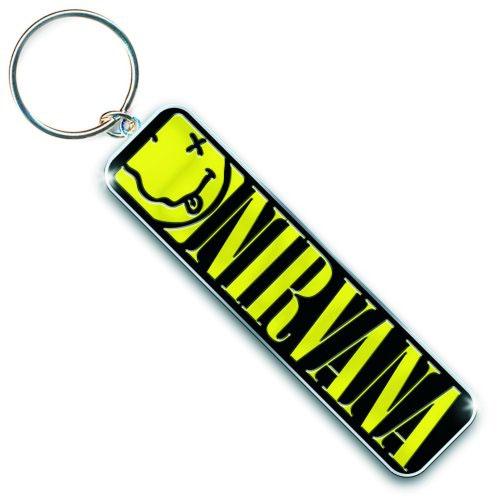 Nirvana- Logo metal keychain