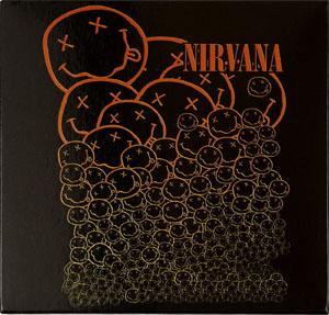 Nirvana- Cascading Smiley magnet