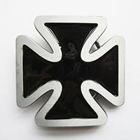 Iron Cross (Black) belt buckle (bb205)