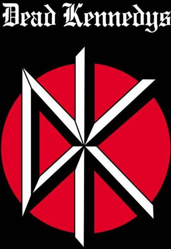 Dead Kennedys- DK & Logo (Logo Above DK) poster