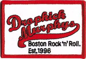 Dropkick Murphys- Baseball Logo embroidered patch (ep295)