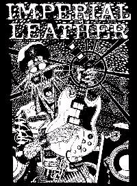 Imperial Leather- Skeleton With Guitar poster