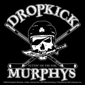 Dropkick Murphys- Puttin' On The Foil sticker (st512)