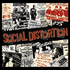 Social Distortion- Flyers sticker (st494)