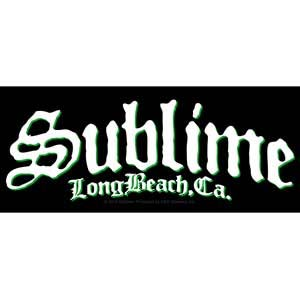 Sublime- Long Beach sticker (st442)