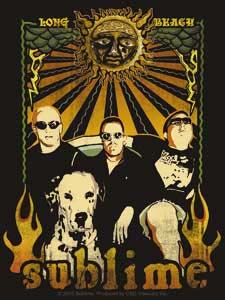 Sublime- Band Pic sticker (st451)