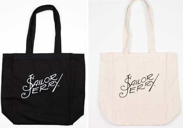 Signature Tote Bag by Sailor Jerry - SALE Natural only