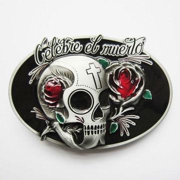 Celebre El Muerto Belt Buckle (bb189)