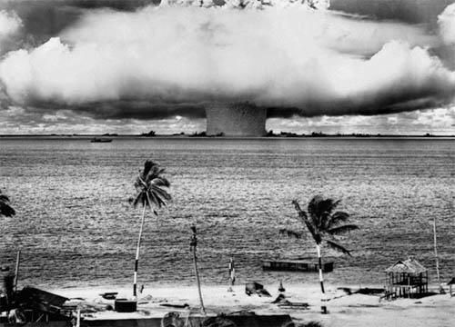 Atom Bomb Blast poster