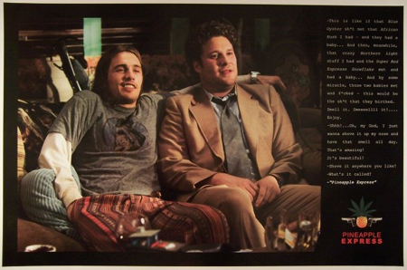 Pineapple Express- Quote poster