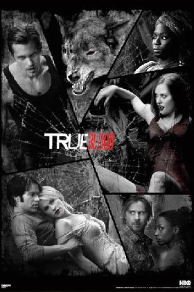 True Blood- Collage poster