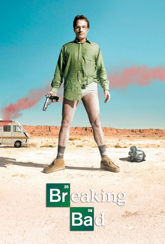 Breaking Bad- Undies poster