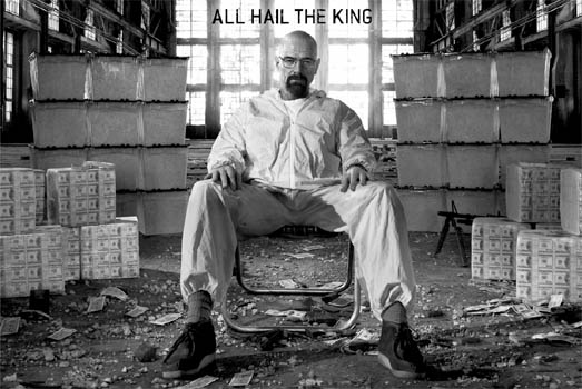 Breaking Bad- All Hail The King poster (A10)